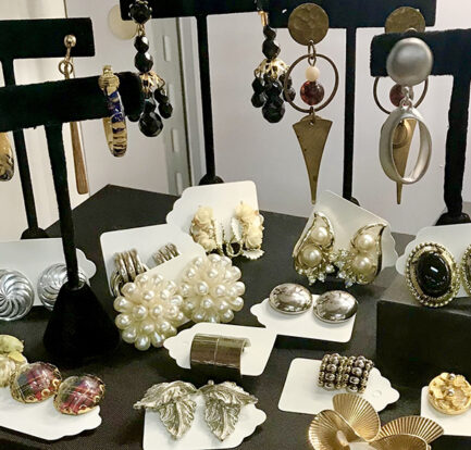 display of jewelry